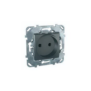 Розетка Без З/К Со шторками (Винт. Зажим) Schneider Electric MGU5-033-12ZD