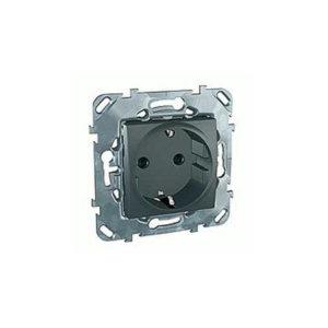 Розетка С З/К Со шторками (Винт. Зажим) Schneider Electric MGU5-037-12ZD