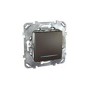 Одноклавишный Выключатель (Сх.1) с инд. Ламп Schneider Electric MGU5-201-12NZD