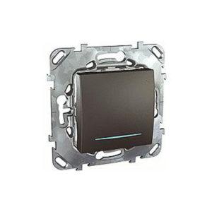 Одноклавишный Выключатель без фиксации С Инд. Ламп Schneider Electric MGU5-206-12NZD
