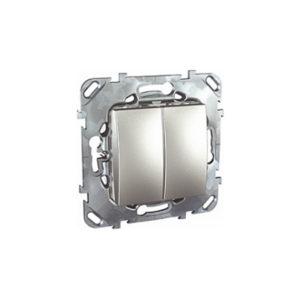 Двухклавишный Выключатель (Сх.5) Алюминий Schneider Electric MGU5-211-30ZD