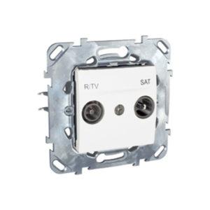 R-Tv/Sat Розетка Оконечная Белый Schneider Electric MGU5-455-18ZD