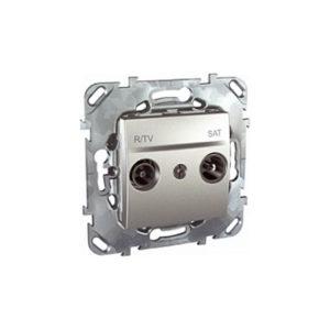 R-Tv/Sat Розетка Оконечная Алюминий Schneider Electric MGU5-455-30ZD