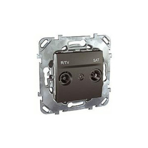 R-Tv/Sat Розетка Проходная Schneider Electric MGU5-456-12ZD