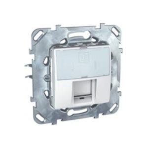 Плата на суппорте для коннекторов Amp & Krone, Белый Schneider Electric MGU5-460-18ZD