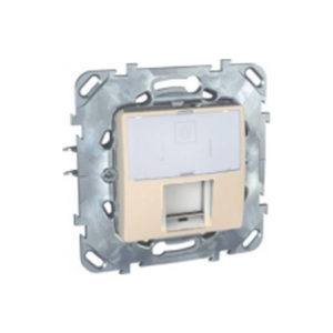 Плата на суппорте для коннекторов Amp & Krone Бежевый Schneider Electric MGU5-460-25ZD