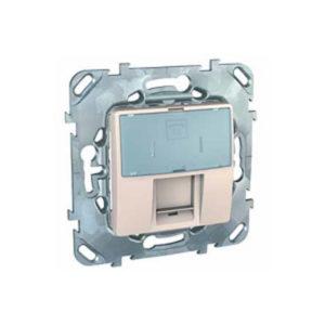 Телефонная Розетка 1Хrj12 (6 Конт) Бежевый Schneider Electric MGU5-493-25ZD