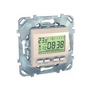 Пограммируемый Термостат 8А (От+5 До +35 Град) Бежевый Schneider Electric MGU5-505-25ZD