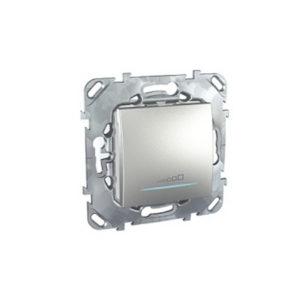 Диммер Нажимной для любого типа нагрузки, 20-350Va Алюминий Schneider Electric MGU5-515-30ZD