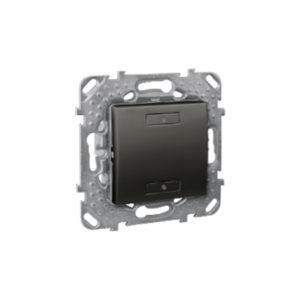 2-Кноп. Выключатель с Индикатором Led, Графитит Schneider Electric MGU5-530-12