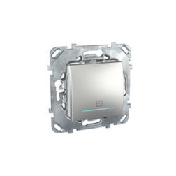 Таймер Нажимной 2Сек — 12мин. с инд. ламп, 8А Алюминий Schneider Electric MGU5-535-30ZD