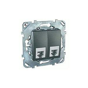 Телефонная Розетка 2Хrj11 (4 Конт) Schneider Electric MGU5-9090-12ZD