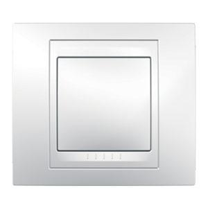 Рамка 1 Место, Хамелеон Белый Schneider Electric MGU6-002-18