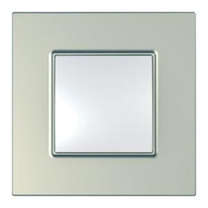 Рамка Unica Quadro 1 Место Титан Schneider Electric MGU6-702-57