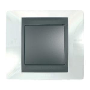Рамка Х1, Нордик/Графит Schneider Electric MGU66-002-292