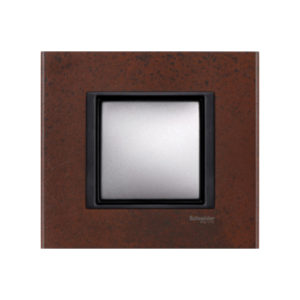 Рамка 1 Пост Кельтская Сталь Schneider Electric MGU68-002-7A3