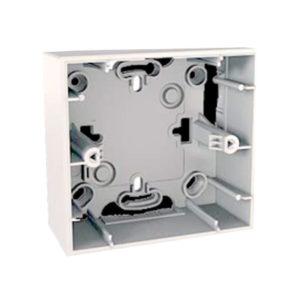Монтажная Коробка для наружной проводки 36мм, 1 Место, Белый Schneider Electric MGU8-002-18