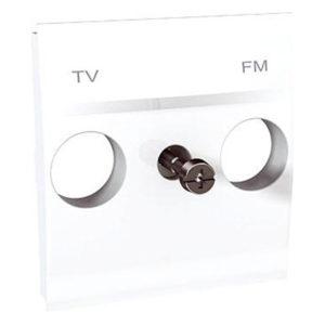 Центр. Плата Tv/Fm Розетки Белый Schneider Electric MGU9-440-18