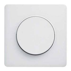 Рамка 1 Пост Прозрачный Белый Odace S52P802R