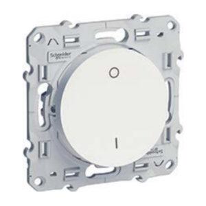 Выключатель 2-полюс. 16А Белый Odace Schneider Electric S52R262