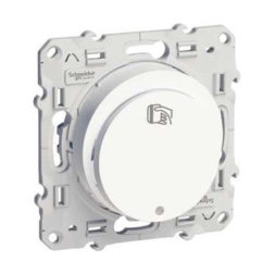 Карточный Выключатель Белый Odace Schneider Electric S52R283