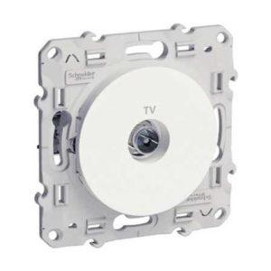 ТV Розетка Белый Odace Schneider Electric S52R445