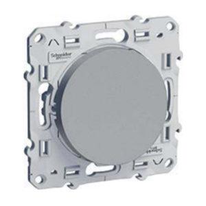 Переключатель Проходной Алюминий Odace Schneider Electric S53R205