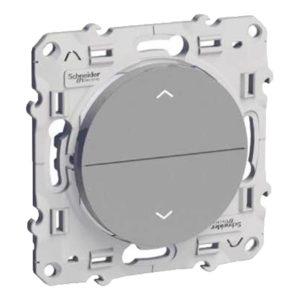 Выключатель д/жалюзи 3 Позицион Алюминий Odace Schneider Electric S53R207
