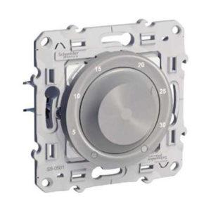 Термостат Комнатный Алюминий Odace Schneider Electric S53R501