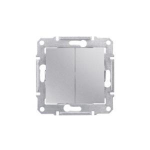 Выключатель 2-Х Клав. Ip44 Алюминий. Schneider Electric SDN0300460