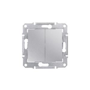 Переключатель 2Кл., Алюминий. Schneider Electric SDN0600160