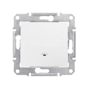 Кнопочный Выключатель «Свет», Белый. Schneider Electric SDN0900121
