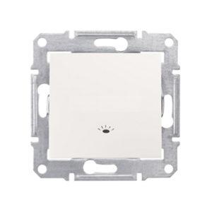 Кнопочный Выключатель «Свет», Бежевый. Schneider Electric SDN0900147