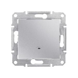 Кнопочный Выключатель «Свет», Алюминий. Schneider Electric SDN0900160