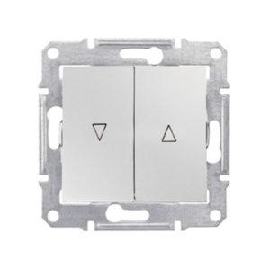 Выключатель д/жалюзи Эл.Блок, Белый. Schneider Electric SDN1300121