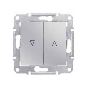 Выключатель д/жалюзи Эл.Блок, Алюминий. Schneider Electric SDN1300160