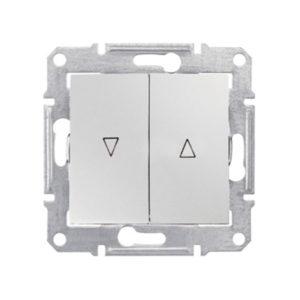 Выключатель д/жалюзи Мех.Блок, Белый. Schneider Electric SDN1300321