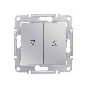Выключатель д/жалюзи Мех.Блок, Алюминий. Schneider Electric SDN1300360