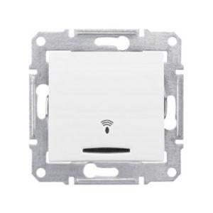 Кнопочный Выключатель «Звонок» Подсв., Белый. Schneider Electric SDN1600421