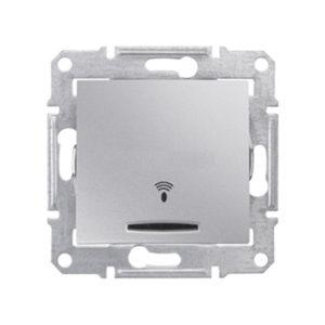 Кнопочный Выключатель «Звонок» Подсв., Алюминий Schneider Electric SDN1600460
