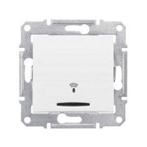 Кнопочный Выключатель «Звонок» Подсв., Белый. Schneider Electric SDN1700121