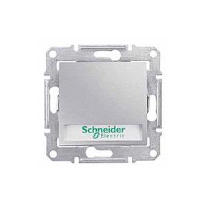 Кнопочный Выключатель с надп. Подсв., Алюминий. Schneider Electric SDN1700460