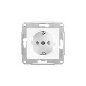 Розетка С/З С/Ш, Белый. Schneider Electric SDN3000121