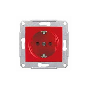 Розетка С/З С/Ш Спец., Красный Schneider Electric SDN3000341