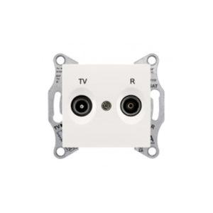 Tv/R Розетка Промежут., Бежевый. Schneider Electric SDN3301347