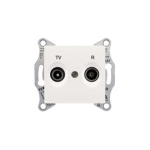 Tv/R Розетка Промежут., Бежевый. Schneider Electric SDN3301847