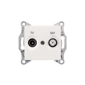 Tv/Sat Розетка Промежут., Бежевый. Schneider Electric SDN3401247