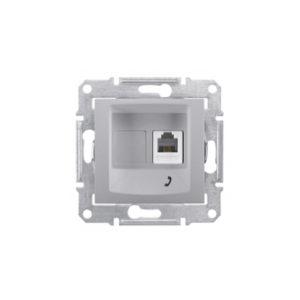 Телефонная Розетка, Алюминий Schneider Electric SDN4101160
