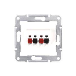 Аудио Розетка Х2, Белый Schneider Electric SDN5400121