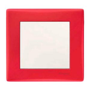 Рамка Одиночная, Красная Schneider Electric SDN5800141